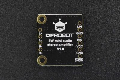 Mini-Audioverstärker hinten
