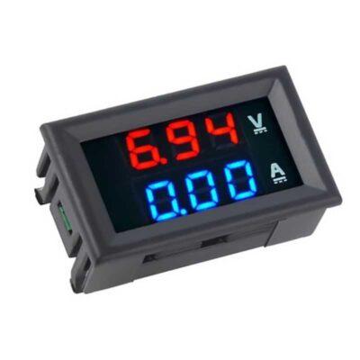 100V 50A Volt und Ampere Meter