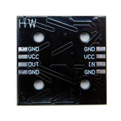 Rückseite WS2812B 4X4 LED-Modul