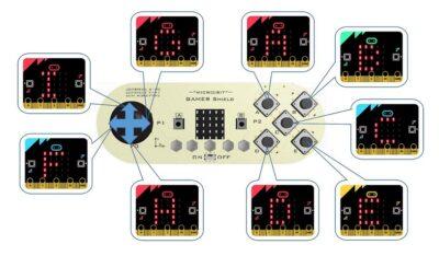 Eigenschaften Gamer Shield Micro: Bit