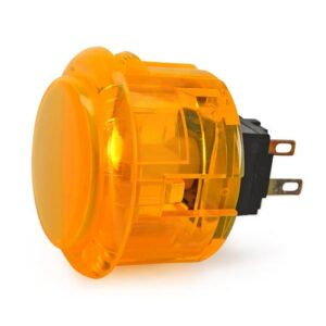 Arcade knop 30mm geel