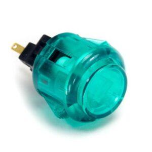 30mm knop doorzichtig groen