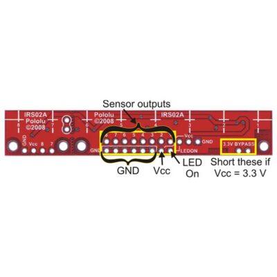 Info QTR-8A