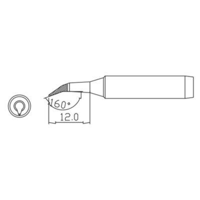 MP001717 soldering tip schematic