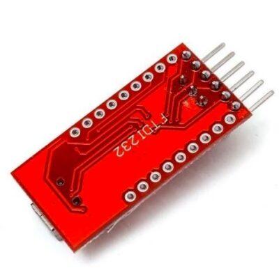 Onderkant FT232RL adapter
