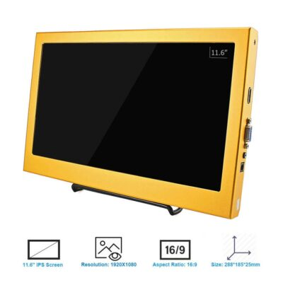 Example of 11.6 inch display