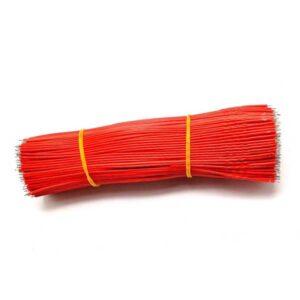 24AWG 15cm soldeerdraad rood