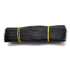 24AWG 15cm soldeerdraad zwart