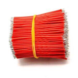 24AWG 5cm soldeerdraad rood