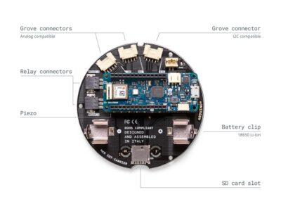 Achterkant IoT carrier