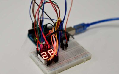 Arduino Project: DS18B20 Thermometer