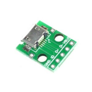 Micro USB DIP adapter