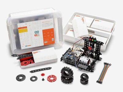 Inhoud Arduino CTC Go motion expansion pack