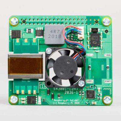 Raspberry Pi 4 POE+ CHAPEAU