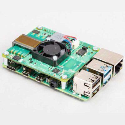 Raspberry Pi 4 CHAPEAU POE Plus