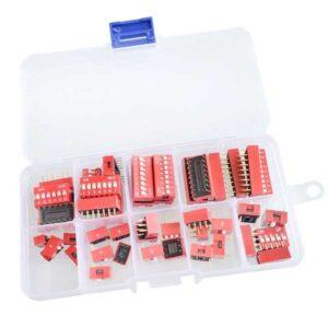 DIP Switch kit 45 schakelaars