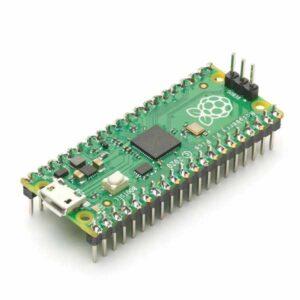 Raspberry Pi Pico met gesoldeerde headers